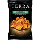TERRA Sweet Potato Chips, No Salt Added, 6 Ounce