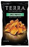 Terra Plain Sweet Potato Chips, 6 Ounce Bags (Pack of 12)