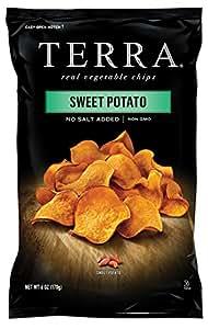 TERRA Sweet Potato, No Salt Added, 6 Ounce (Pack of 12)