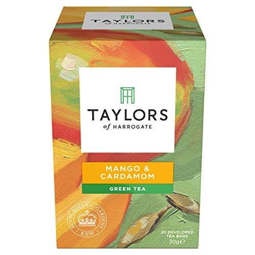 Sensuous Spice - Taylors of Harrogate Mango & Cardamom Green Tea, 20 Teabags