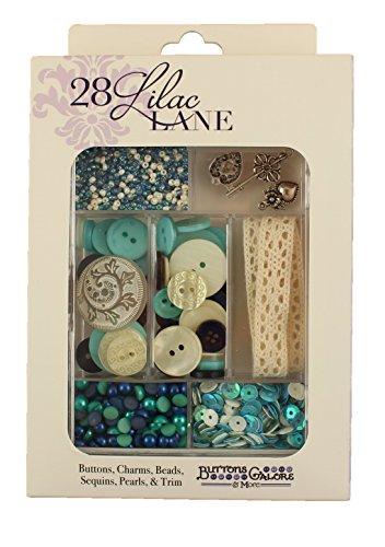 Buttons Galore Lilace Lane Attic Findings Embellishment -