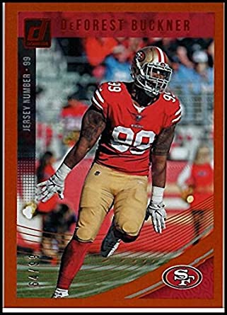 10acd86a5b5 Amazon.com  2018 Donruss Jersey Number  256 DeForest Buckner  99 ...
