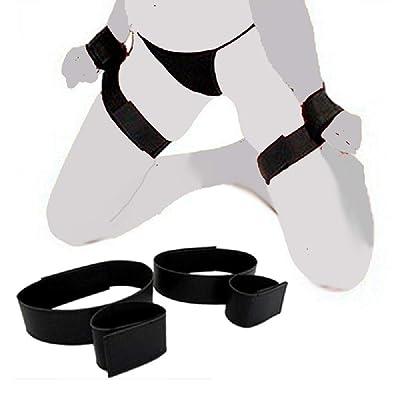 Edonsor Sturdy Wrist Thigh Nylon Cuffs Set for Women: Sports & Outdoors