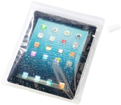PEARL Wasserdichte Universal-Tasche für Tablets bis 10 Zoll