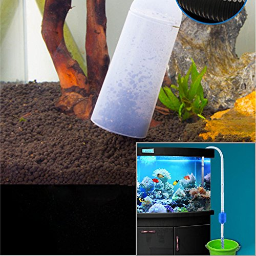 Aquarium cleaner foneso aquarium cleaner set magnetic for How to clean fish tank rocks