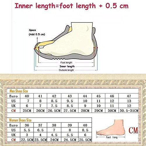 Les Chaussures De Sport Des Femmes Des Hommes Courent Des Chaussures Légères Confortables De Gymnastique 6 69pFpMa