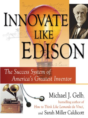 Amazon innovate like edison the five step system for innovate like edison the five step system for breakthrough business success by gelb fandeluxe Image collections