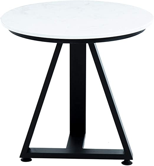Table HAIZHEN Mesas Mesa de Centro Redonda Simple, Mesa de ...