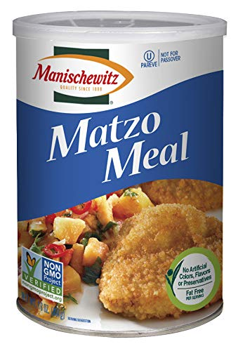 Manischewitz Matzo Meal Daily Canister, 16 OZ, Pack of 2