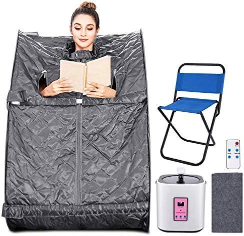Aceshin Portable Steam Sauna Home Spa