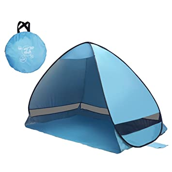 Sddulytb Automatic Instant Pop up Beach Tent Sun Shelter Portable Outdoor 2 to 3 Person  sc 1 st  Amazon.com & Amazon.com: Sddulytb Automatic Instant Pop up Beach Tent Sun ...