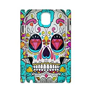 case Of Artsy Skull 3D Bumper Plastic customized case For samsung galaxy note 3 N9000 by icecream design