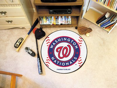 Washington Nationals Baseball Rug - 3