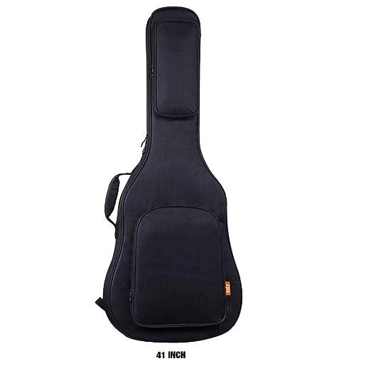 MondayUp - Funda para Guitarra acústica, Impermeable, Ajustable ...