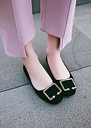 Court On Mee Dolly Black Shoes Flat Shoes Women's Slip xgxU16pq