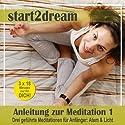 Anleitung zur Meditation 1: Drei geführte Meditationen für Anfänger: Atem & Licht Hörbuch von Nils Klippstein, Frank Hoese Gesprochen von: Daniel Wandelt