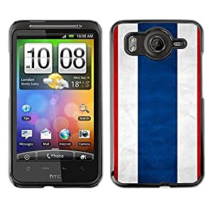 Shell-Star ( National Flag Series-Thailand ) Snap On Hard Protective Case For HTC Desire HD / Inspire 4G