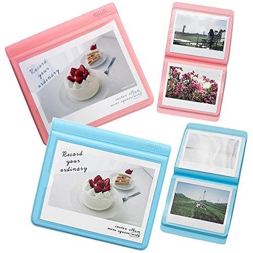 2NUL Polaroid Wide Photo Album Fujifilm instax Wide Instant Film Mini Album 29Pockets Set of 2