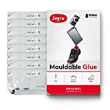 Sugru Moldable Glue - Original Formula - White 8-Pack