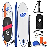 Goplus 10' Inflatable Stand Up Paddle Board & Accessories Package