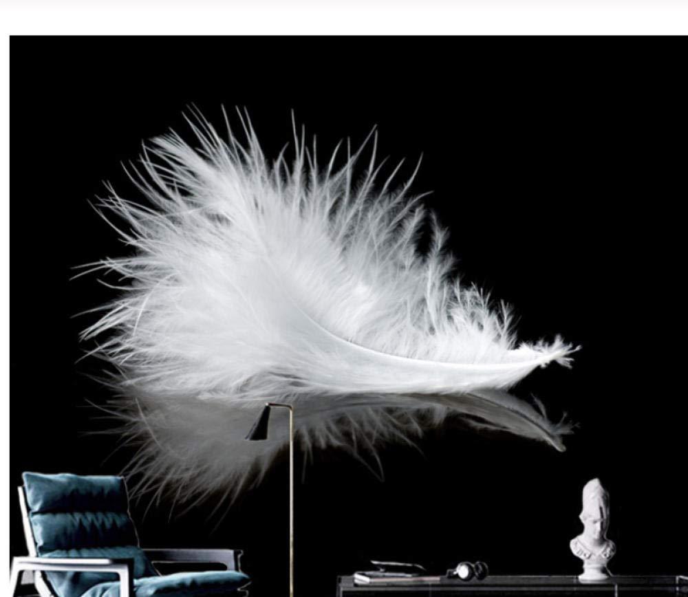 calidad garantizada Mural personalizado, personalizado, personalizado, moderno, simple, blancoo y negro, fondo de pantalla en 3D, estudio, sala de estar, sofá, fondo, 3D en casa-200cmx140cm  Entrega directa y rápida de fábrica