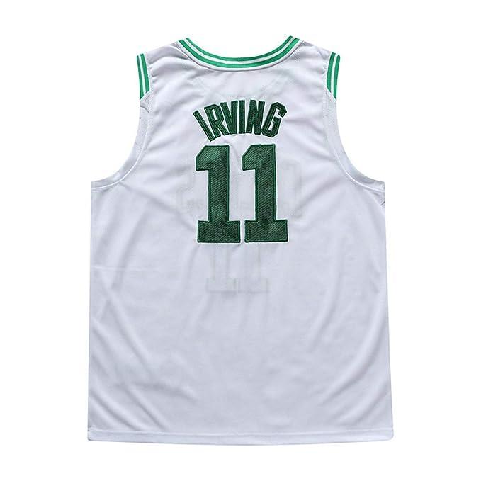 WWJJE Boston Celtics # 11 Kyrie Irving - Chándal de Baloncesto ...