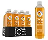 Sparkling Ice Orange Mango Sparkling Water, with Antioxidants and Vitamins, Zero Sugar, 17  Fl. Oz Bottles (Pack of 12)