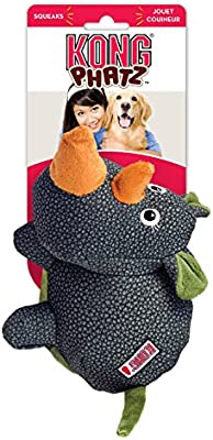 Small KONG Phatz Rhino Dog Toy