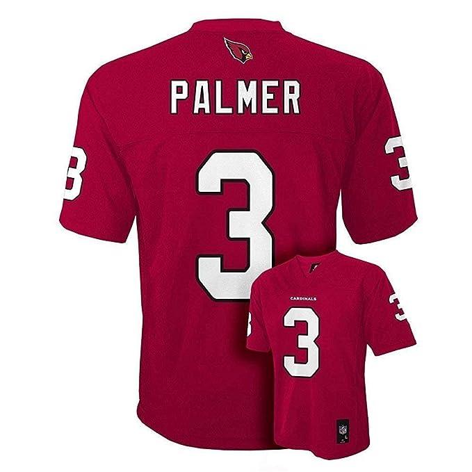 7c82ab3b2216 Amazon.com  Carson Palmer Arizona Cardinals NFL Youth Red Home Mid ...