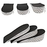 Men Women 1 Pair Memory Foam Height Increase Insole Heel Lift Insert Cushion Shoe Taller Pad (Height Increase 4 cm)