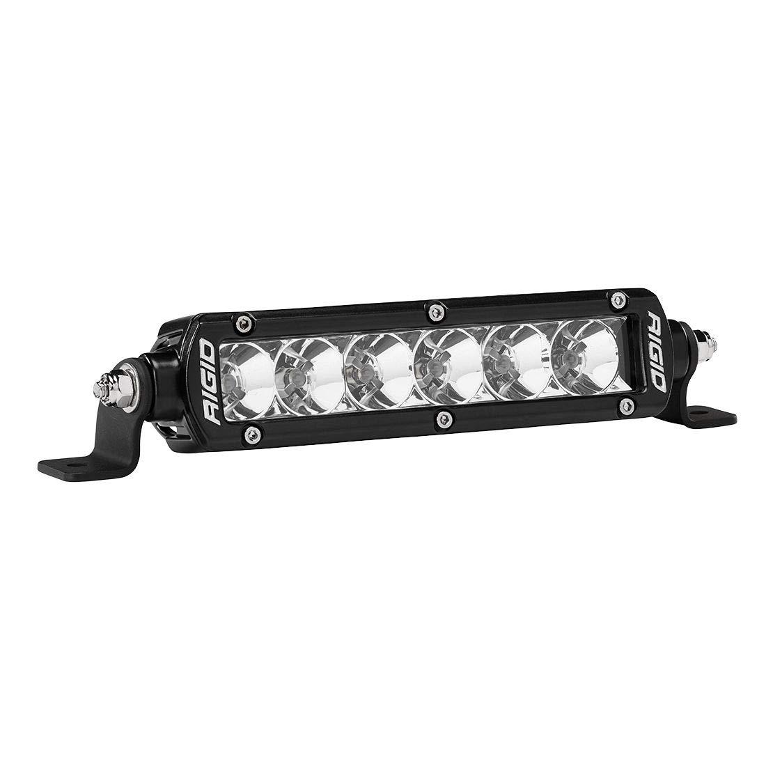 Rigid Light Bar >> Amazon Com Rigid 906113 Black Sr Series Pro 6 Flood Led