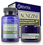 Revitol Acnezine Acne Treatment Supplement and Cream Kit - 5 Pack