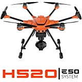 Yuneec H520 + E50 System | H520 airframe, E50 3-axis gimbal camera, ST16S, Filter Ring, Two 520 Batteries, Lanyard, Charging Cube