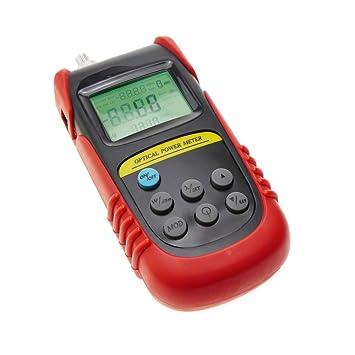 Cablematic - Medidor de potencia óptica de -50 dBm a +26 dBm: Amazon.es: Electrónica