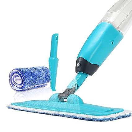 WENBIAOXUEStatic limpiador de piso trapeador uso con toallitas húmedas o secas
