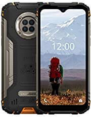 "Rugged Phone Unlocked DOOGEE S96 Pro(2020), 8GB+128GB Infrared Night Vision Helio G90 Octa Core Waterproof Android Phone, 48MP+20MP, 6.22"" + Global 4G LTE GSM AT&T T-Mobile Dual SIM Phone 6350mAh"