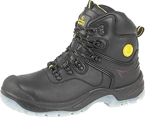 Para hombre Amblers Acero FS198Botas de seguridad hombre Textil Piel Sintética Suela Zapatos de cordones