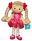 AB Gee 32cm Rag Doll In Light Pink Flower Print Dress