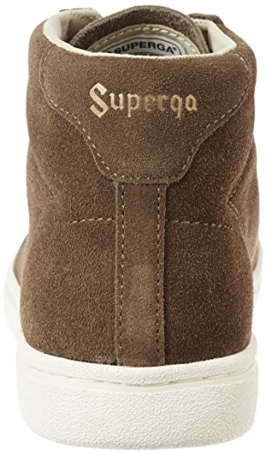 Superga 4531-Sueu, Sandalias con Plataforma Unisex Adulto Antilop