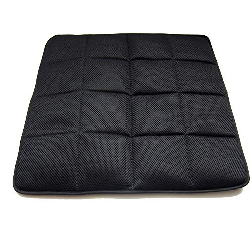 DGQ Natural Bamboo Charcoal Non-Slip Breathable Seat Cushion 17.7