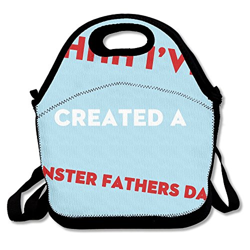 Ahhh I¡¯ve Created A Monster Fathers Day Polyester Lunch Bag Large 11.4