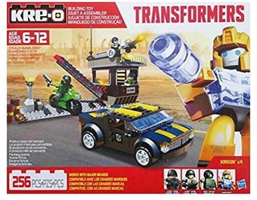 Kre-O Transformers Stealth Bumblebee Building (Stealth Bumble Bee)