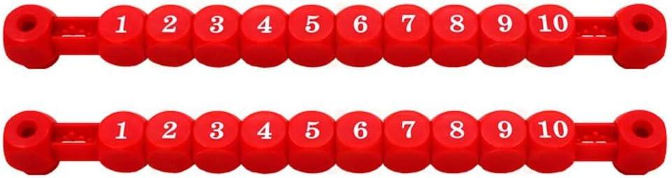 Phrat 2 ST/ÜCKE Tischfu/ßball Anzeigetafel Tischfu/ßball Anzeigetafel Tischfu/ßball Maschine Zubeh/ör Tischfussball Torz/ähler