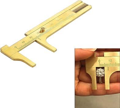 Brass Pocket Caliper