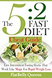 5:2 DIET: The 5:2 Cheat Guide: Easy Intermittent Fasting Hacks That Work Like MAGIC For RAPID WEIGHT LOSS (5:2 Fast Diet - Low Carb Low Fat Weight Loss Book)