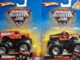Hot Wheels Monster Jam 2 Popular Trucks: El Toro & Backdraft 1/64