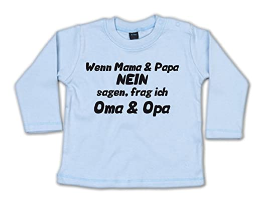 G Graphics Baby Sweatshirt Wenn Mama Papa Nein Sagen Frag