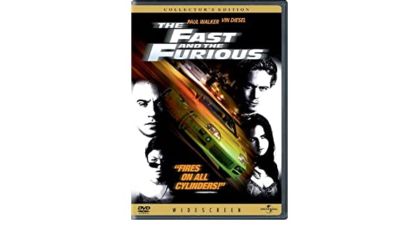 Amazon.com: The Fast and the Furious by Vin Diesel: Vin Diesel;Paul Walker;Michelle Rodriguez;Jordana Brewster;Rick Yune, Rob Cohen: Movies & TV