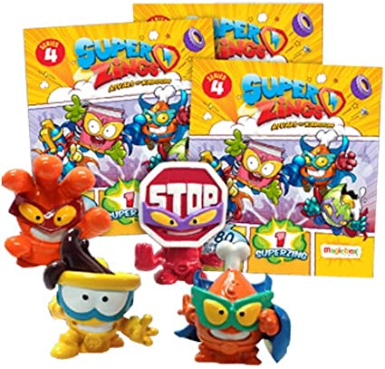 SUPERZINGS PSZ4S112UK00 Series 4 Starter Pack: Amazon.es: Juguetes ...
