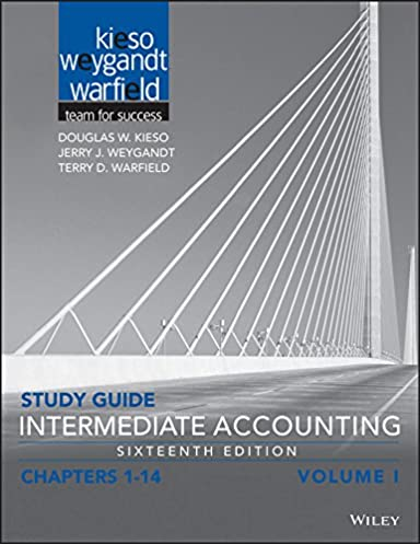 amazon com study guide intermediate accounting volume 1 chapters rh amazon com Intermediate Accounting Kieso 15th Intermediate Accounting 7th Edition Answers
